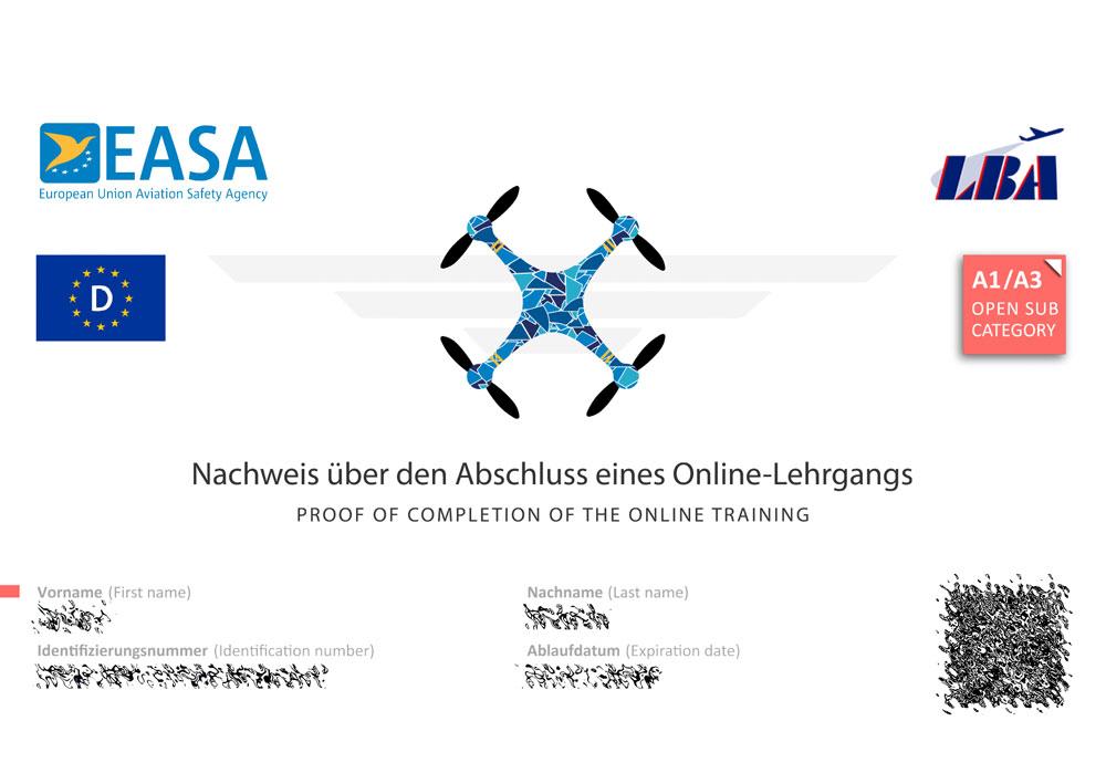 Kostenloser Drohnenführerschein